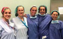 Équipo médico del Hospital Universitario de Torrejón (Foto. ConSalud)