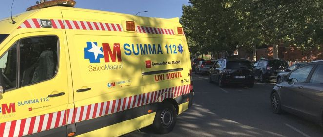 Ambulancia del Summa 112 (Foto: @112cmadrid)