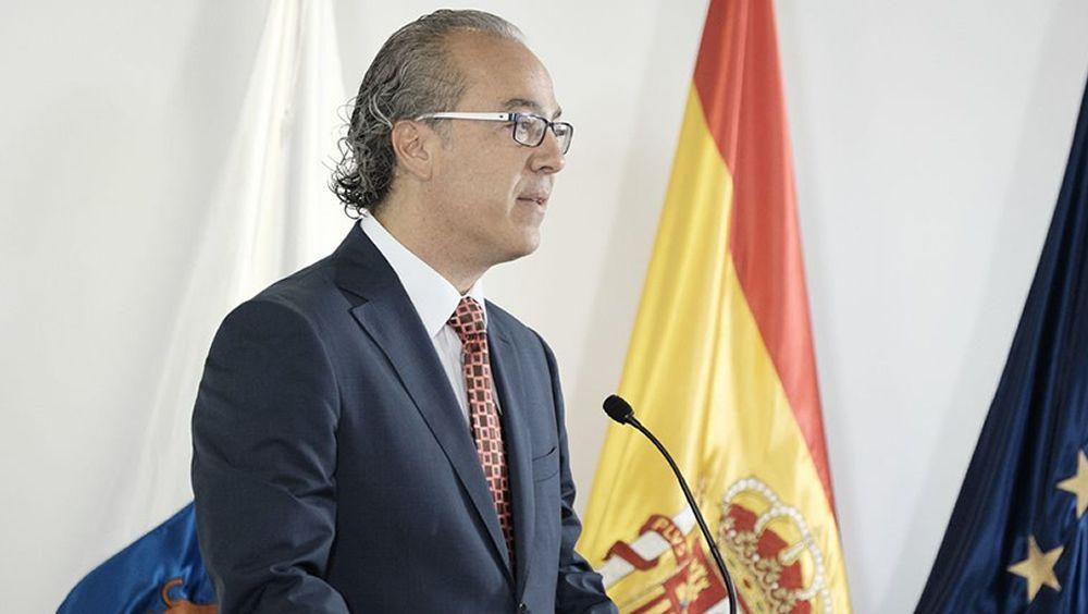 Jesús Morera, gerente del Hospital Dr. Negrín.