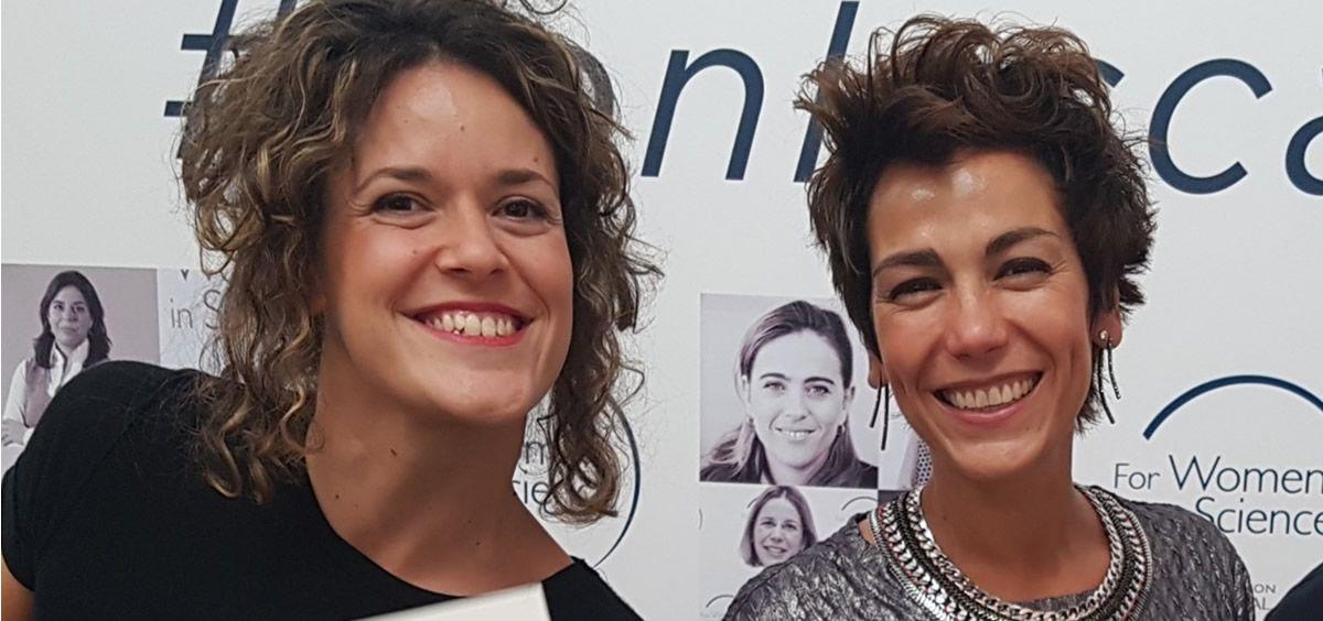 Las doctoras Méndez Barbero y Estéban (Foto. Fundación Jiménez Díaz)