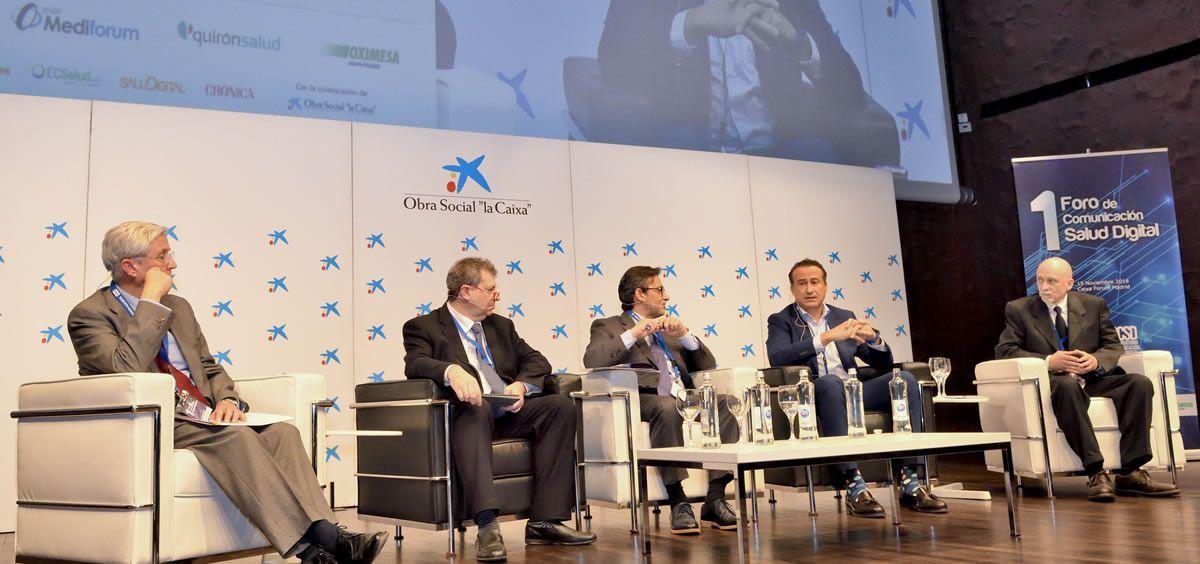 Un instante del I Foro de Comunicación Salud Digital, celebrado en noviembre de 2018 (Foto: Óscar Frutos - ConSalud.es)