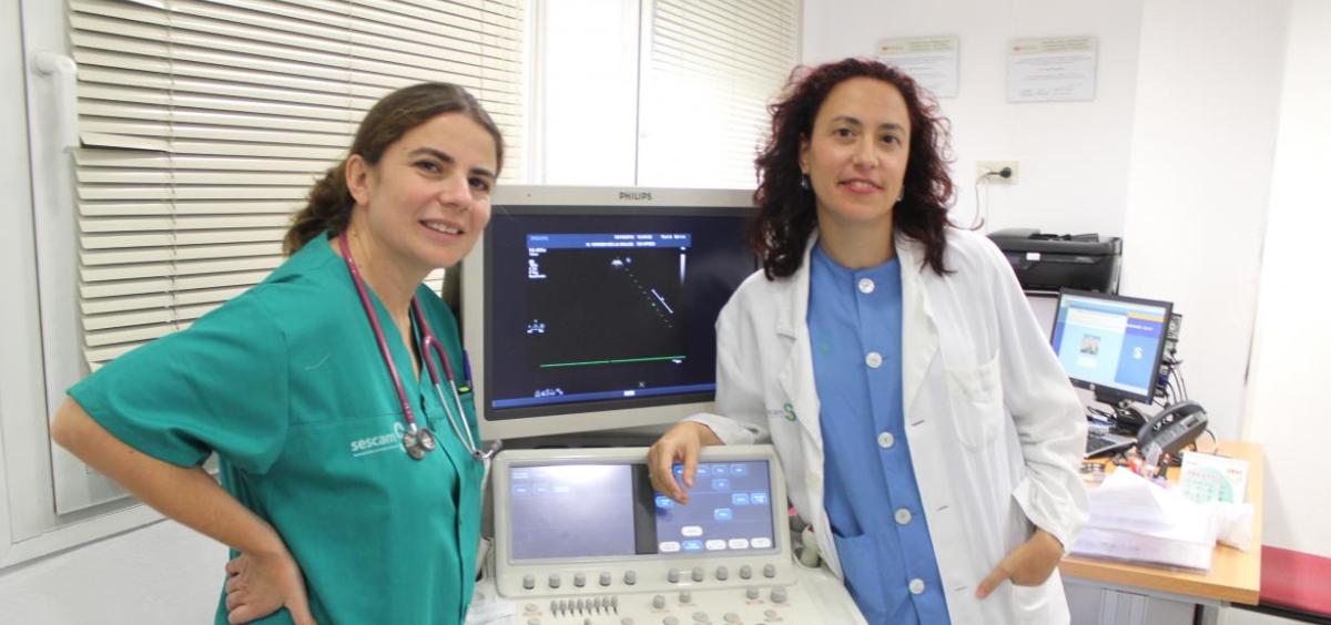 Cardiólogas del Hospital de Toledo (Foto. Gobierno de Castilla La Mancha)