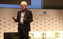 Jesús María Fernández, experto en innovación sanitaria, en la conferencia inaugural del II Foro Comunicación en Salud Digital (Foto. ConSalud.es)