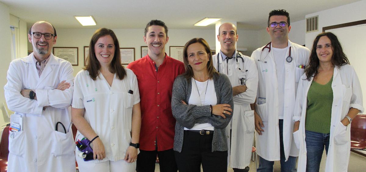 Profesionales del Hospital de Guadalajara (Foto. Sescam)