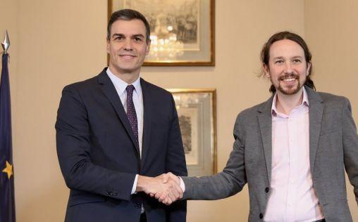 Sánchez e Iglesias anuncian un acuerdo de gobierno que desbloquea la sanidad tras meses en funciones