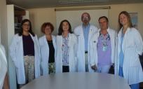 Profesionales del Hospital General de Alicante (Foto. Generalitat Valenciana)