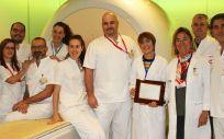 Equipo de Radiodiagnostico de Vinalopó (Foto. Vinalopó Salud)