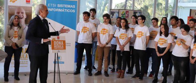 El consejero de Sanidad, Enrique Ruíz Escudero, durante la presentación de la campaña (Foto. Comunidad de Madrid)