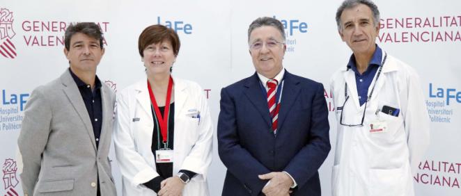 Profesionales del Hospital La Fe (Foto. ConSalud)