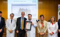 El Clínico de Santiago recibe el mayor reconocimiento en el tratamiento de la EII