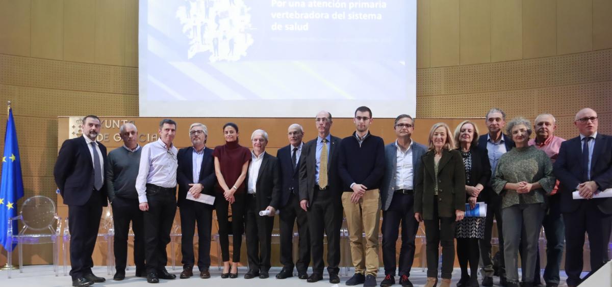 Acto de presentación del documento estratégico y de gestión para el futuro de este nivel asistencial (Foto. Xunta de Galicia)