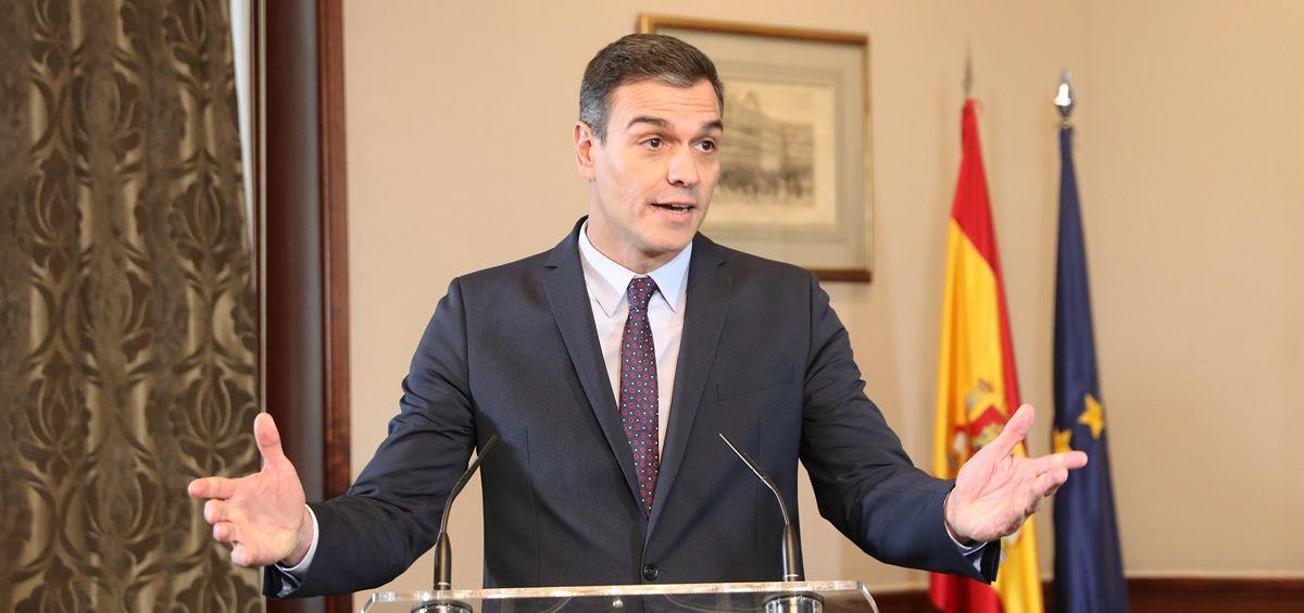 Pedro Sánchez, presidente del Gobierno en funciones (Foto: PSOE)