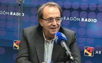 El consejero de Hacienda y Administración Pública, Carlos Pérez Anadón (Foto: Gobierno de Aragón)