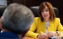 Teresa Cruz, consejera de Sanidad de Canarias (Foto. Gobierno de Canarias)