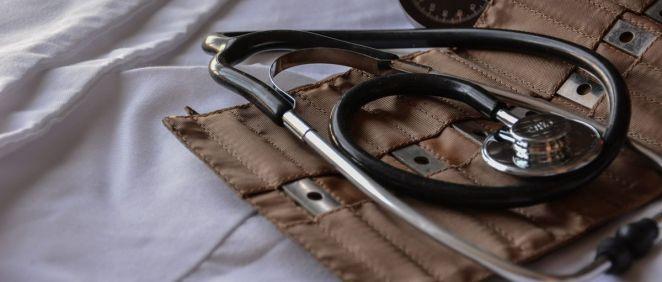 Estetoscopio. (Foto. Unsplash)