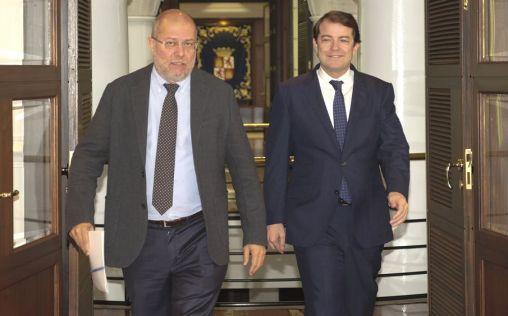 """Mañueco e Igea muestran unidad para """"transformar"""" la sanidad de Castilla y León"""