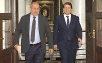 Francisco Igea y Alfonso Fernández Mañueco, vicepresidente y presidente de la Junta de Castilla y León (Foto: JCYL)