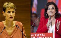 Las presidentas de Navarra, María Chivite, y de La Rioja, Concha Andreu (Foto. Fotomontaje ConSalud.es)