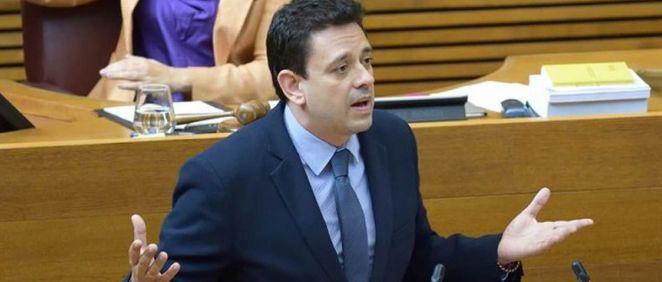 El portavoz de Sanidad del PP en la Comunidad Valenciana, José Juan Zaplana. (Foto. @ppcv)