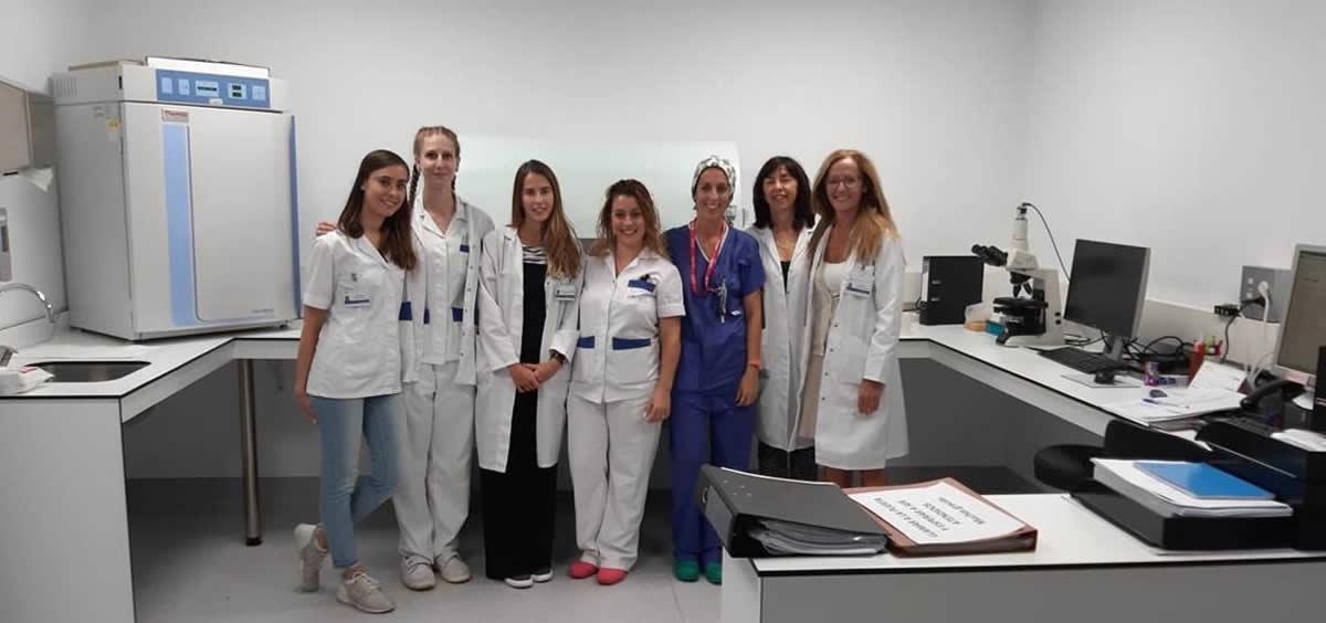 Especialistas del HURJC responsables de su nueva Unidad de Inseminación Artificial (Foto.Hospital Universitario Rey Juan Carlos)