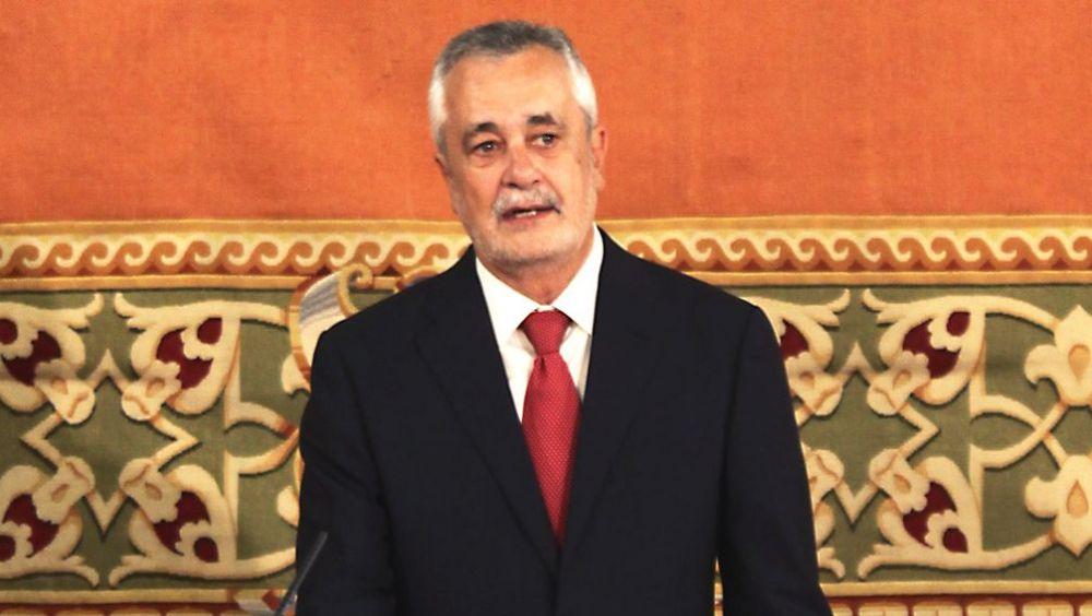 José Antonio Griñán, expresidente de la Junta de Andalucía, exconsejero de Salud y exministro de Sanidad (Foto: Parlamento de Andalucía)