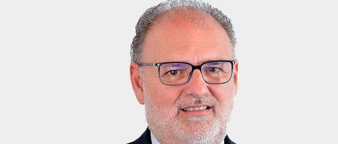 Miguel Ángel Guzmán, gerente del Servicio Andaluz de Salud (SAS). (Fotomontaje ConSalud)