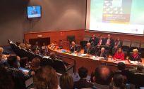 Instantánea del acto inaugural de las jornadas sobre liderazgo enfermero organizadas por el Consejo General de Enfermería. (Foto. CGE).