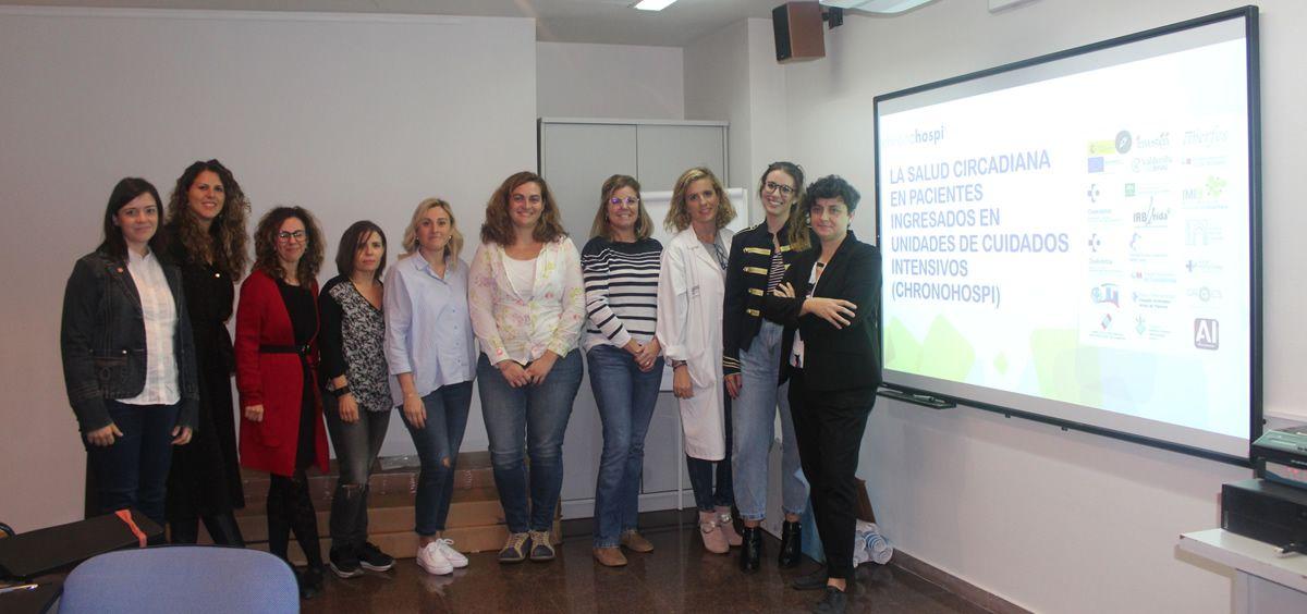 Enfermeras de Alicante (Foto. Generalitat Valenciana)