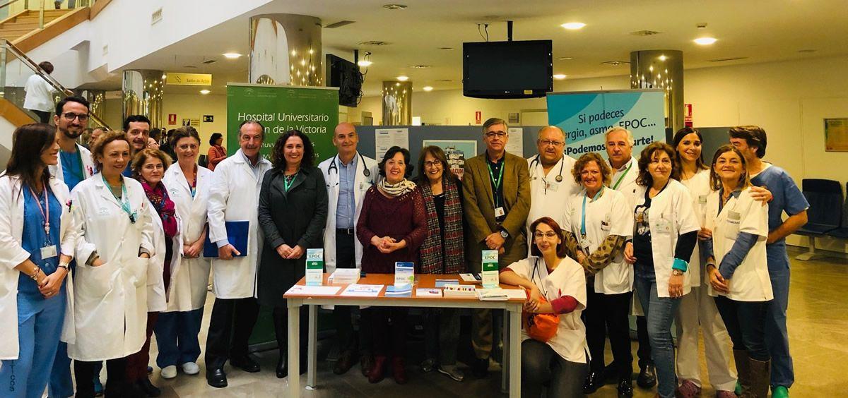 Equipo EPOC (Foto. Junta de Andalucía)