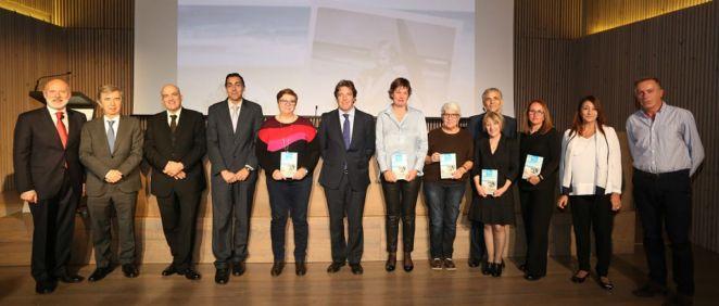 Fotografía de los ganadores (Foto. Sanitas)