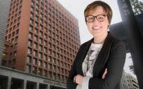 Blanca Ruiz,  presidenta de la Federación Española de Fibrosis Quística (Foto. Fotomontaje ConSalud.es)