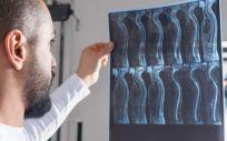 Profesional médico analizando una prueba (Foto. Comunidad de Madrid)