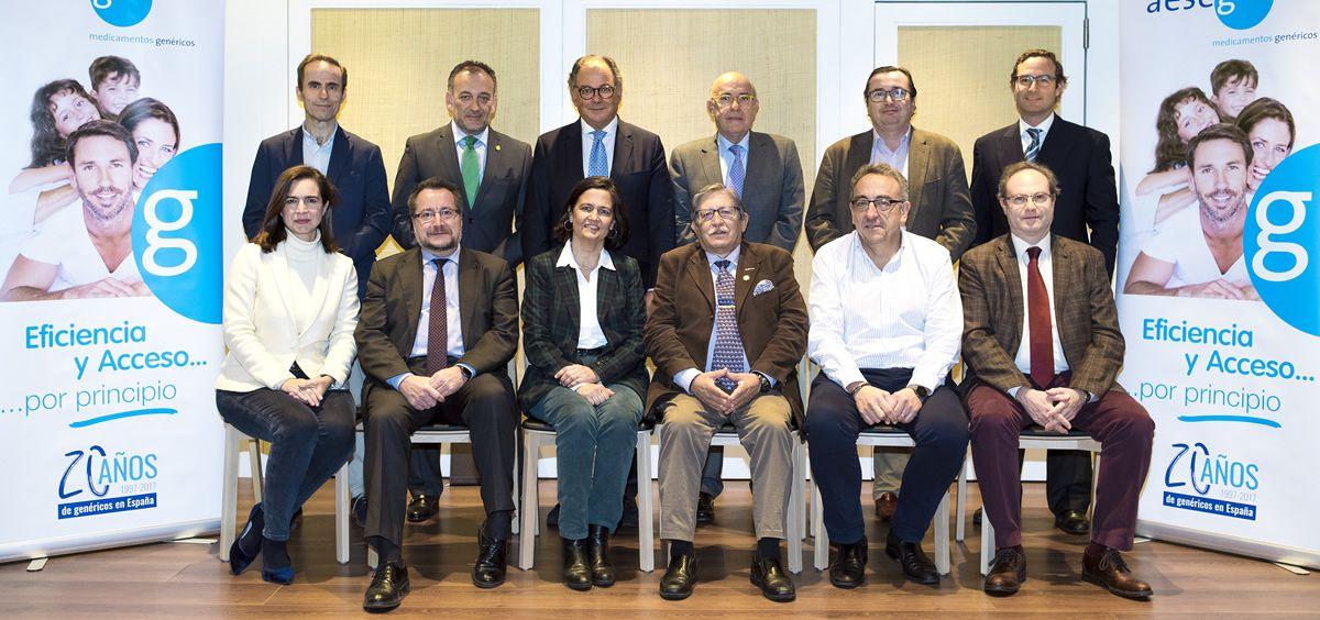 Consejo Asesor de la Asociación Española de Medicamentos Genéricos (Foto. Aeseg)