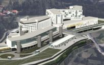 Hospital público Gran Montecelo (Foto. Xunta de Galicia)