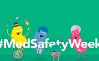 Campaña #MedSafetyWeek de la AEMPS (Foto. AEMPS)