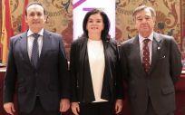 De izquierda a derecha: Eduardo Pastor, Carmen Peña y Luis González (Foto: Grupo Cofares)