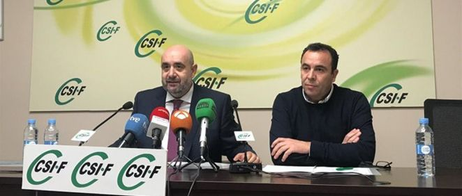 El presidente de CSIF, Miguel Borra. (Foto. CSIF)