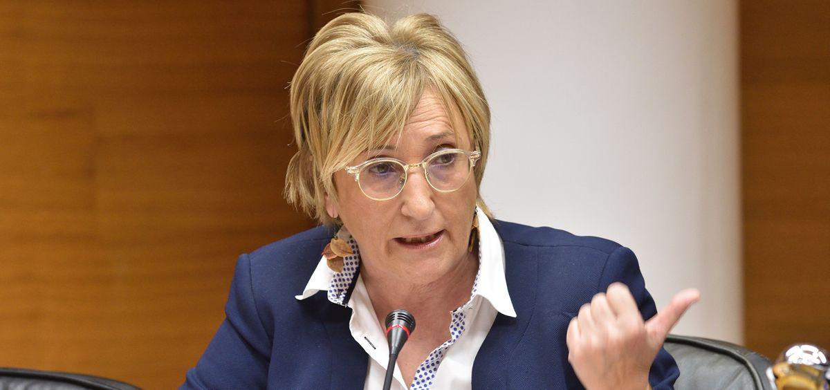 Ana Barceló, consejera de Sanidad Universal de la Comunidad Valenciana (Foto: Flickr Cortes Valencianas)