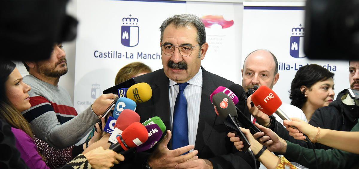 El consejero de Sanidad de Castilla La Mancha, Jesús Fernández. (Foto: Castilla-La Mancha)