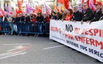 Imagen de la manifestación celebrada en Madrid. (Foto. CCOO)