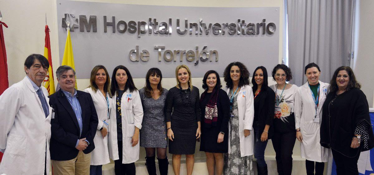 Jornada sobre donación y trasplantes en el Hospital de Torrejón (Foto. Consalud)