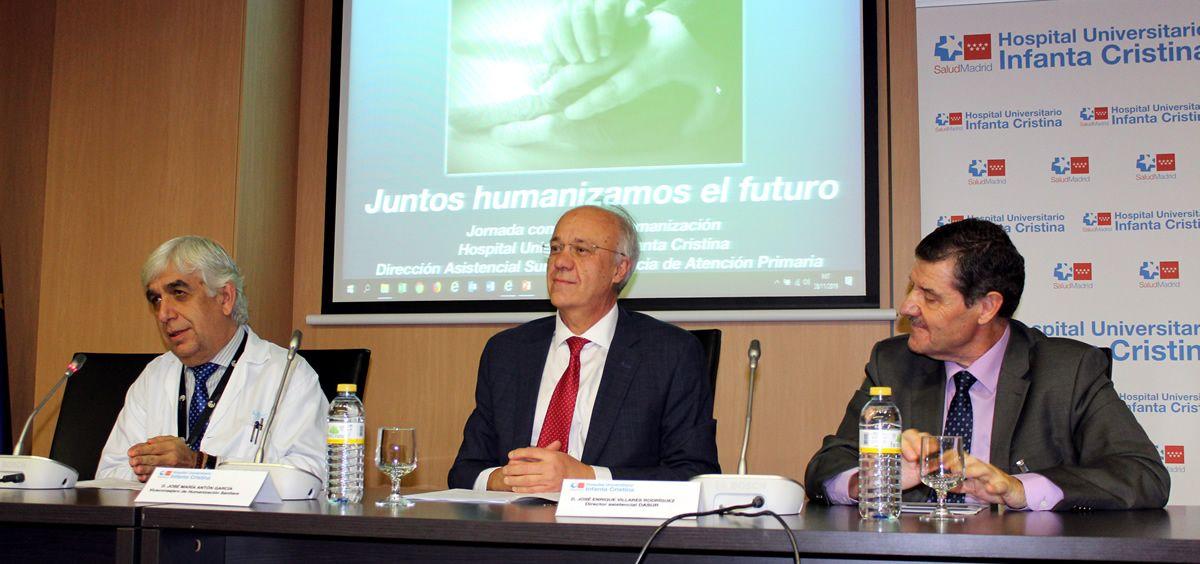 Jornada de Humanización organizada por el Hospital Infanta Cristina (Foto. Comunidad de Madrid)