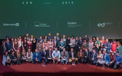 La Enfermería y la Fisioterapia españolas celebran su gala anual más humana