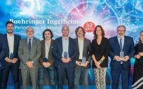 Ganadores de la 32ª edición del Premio Boehringer Ingelheim al Periodismo en Medicina (Foto. ConSalud)