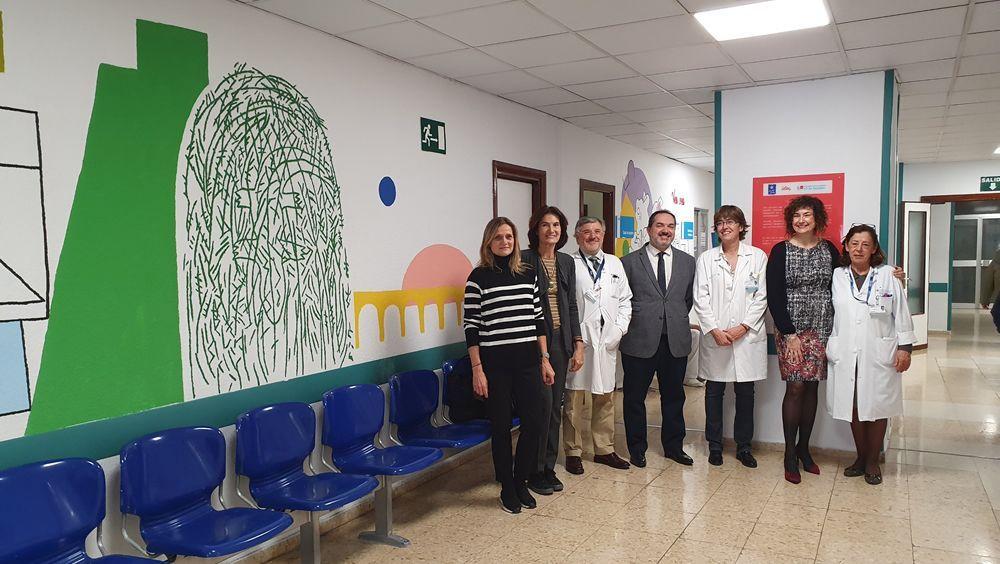 El 12 de Octubre renueva el pasillo de radiología infantil