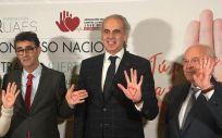 Enrique Ruiz Escudero, consejero de Sanidad de la Comunidad de Madrid, en el Congreso Nacional contra la Muerte Súbita (Foto. ConSalud.es)