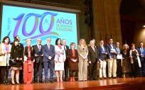 Celebración Centenario del Colegio de Enfermería de Cáceres (Foto. Consejo General de Enfermería)