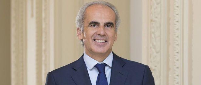 Enrique Ruiz Escudero, consejero de Sanidad de la Comunidad de Madrid (Foto. Comunidad de Madrid)