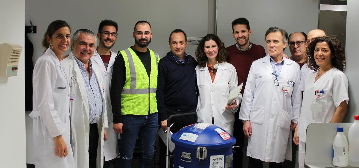 Primer paciente en probar la terapia CAR-T en la Comunidad Valenciana (Foto. ConSalud)