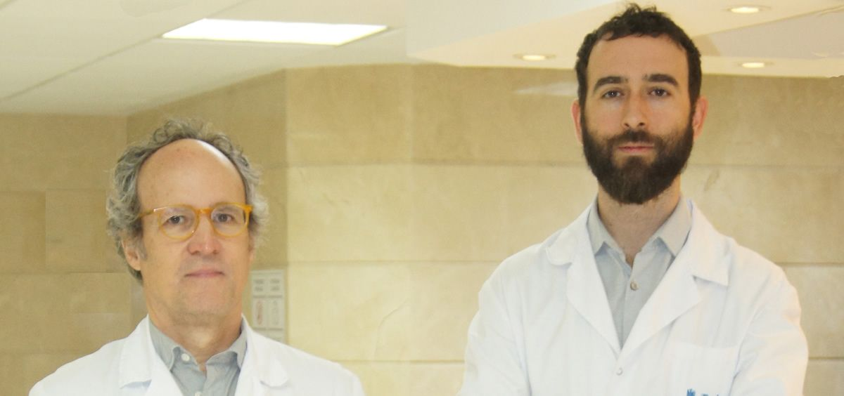 Los doctores Ángel Aleo y Antonio Gil-Nagel, han comenzado a buscar afectados en España (Foto. Quirónsalud)